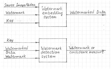 Digital Watermarking Embedding and Detection Systems
